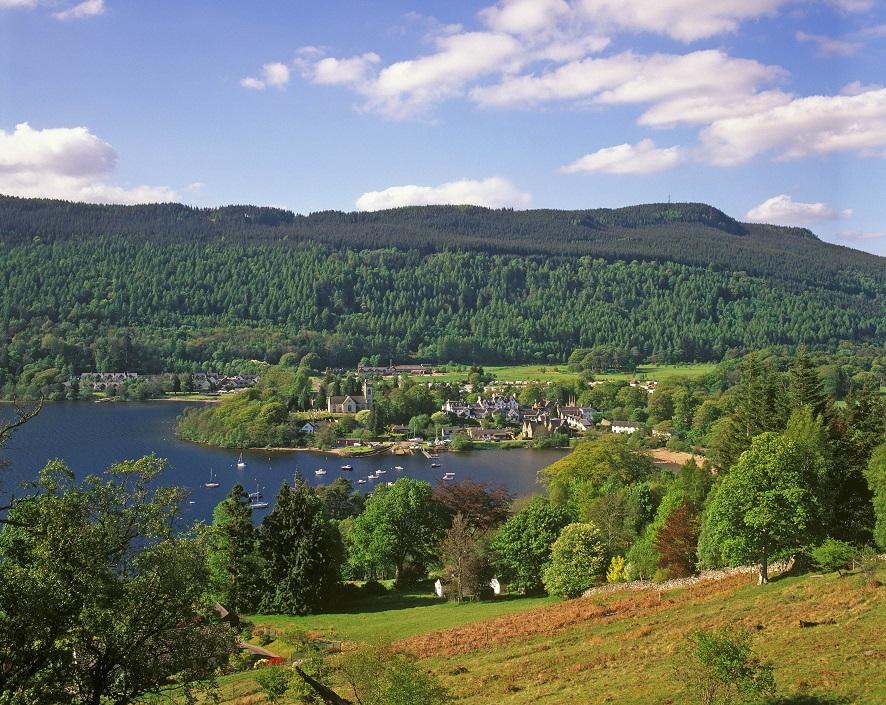 Schotland is perfect voor een vakantie met de auto