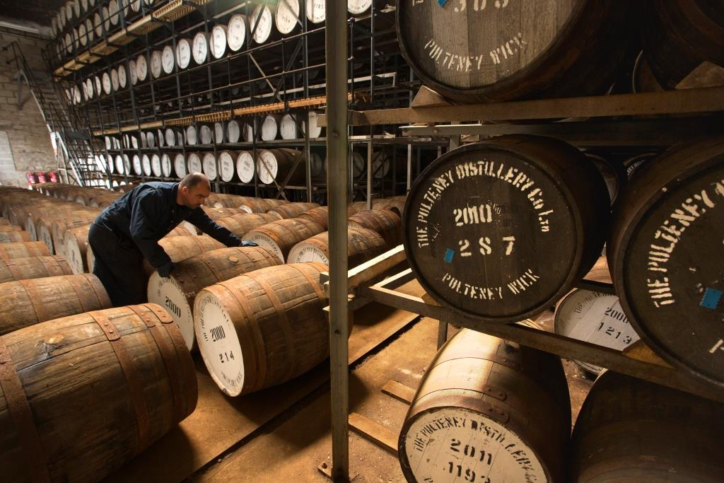 Whisky distilleerderij in Schotland
