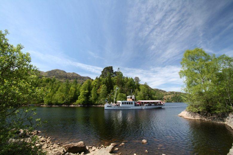 Lochs Schotland - Loch Katrine