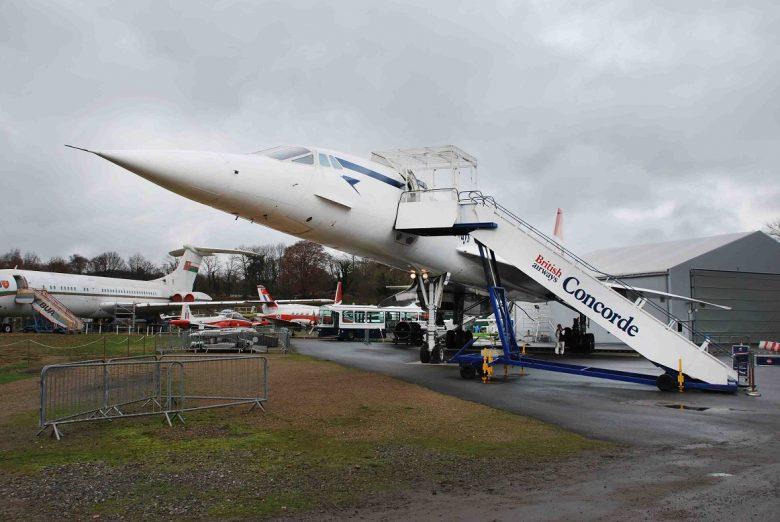 Vlieg met een Concorde in openluchtmuseum Brooklands
