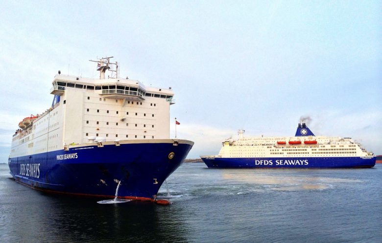 PRINCESS SEAWAYS en KING SEAWAYS in IJmuiden
