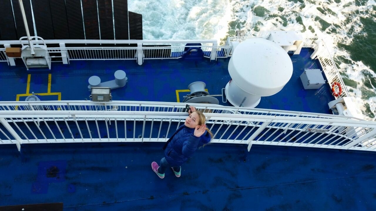 Ferry good memories stiekem op avontuur over het schip - Jarige dochters kamer ...
