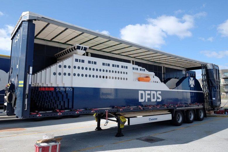 DFDS bouwt het grootste LEGO-schip ter wereld