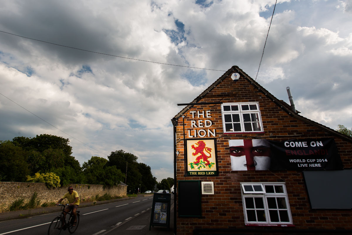 The Red Lion in Zuid-Oost Engeland