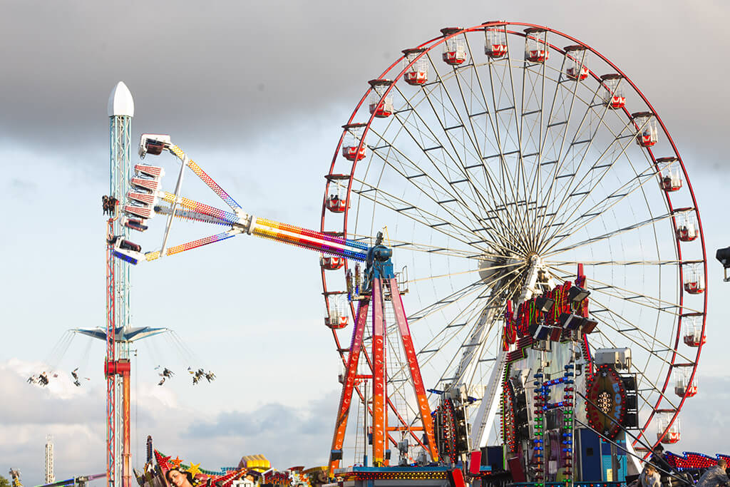 The Hoppings in Newcastle