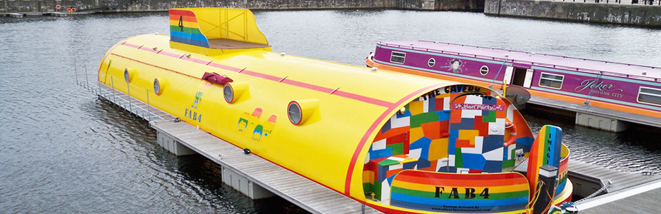 The Yellow Submarine in Liverpool