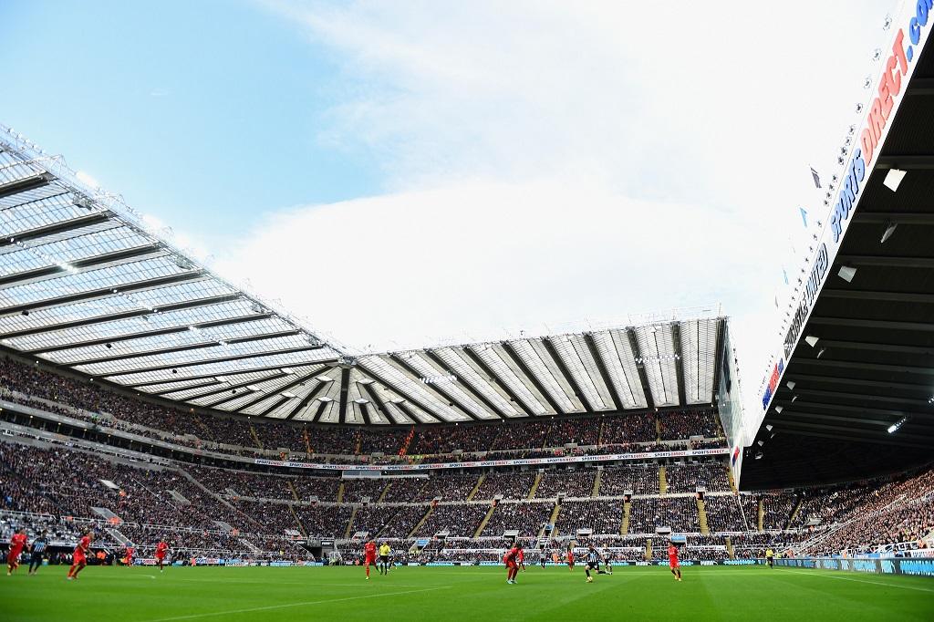St. James Park - voetbalstadion