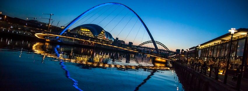 Bruggen over de Tyne - Newcastle