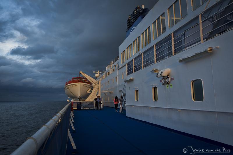 De ferry naar Newcastle upon Tyne