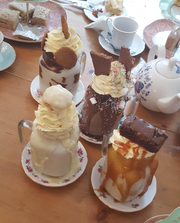 De beroemde milkshakes van The Great British Cupcakery
