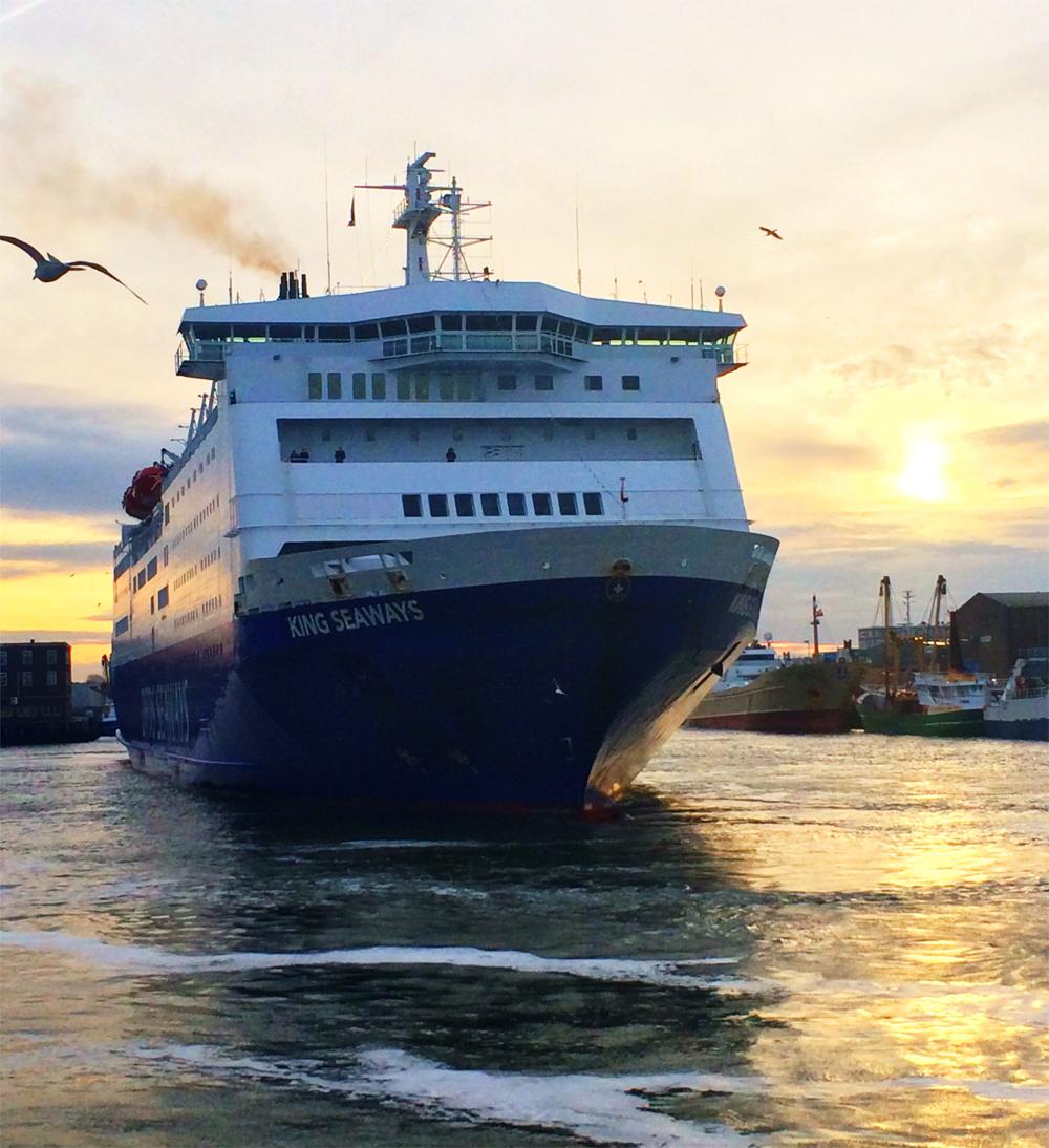 Vakantie met de ferry