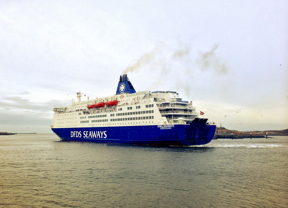 KING SEAWAYS in IJmuiden