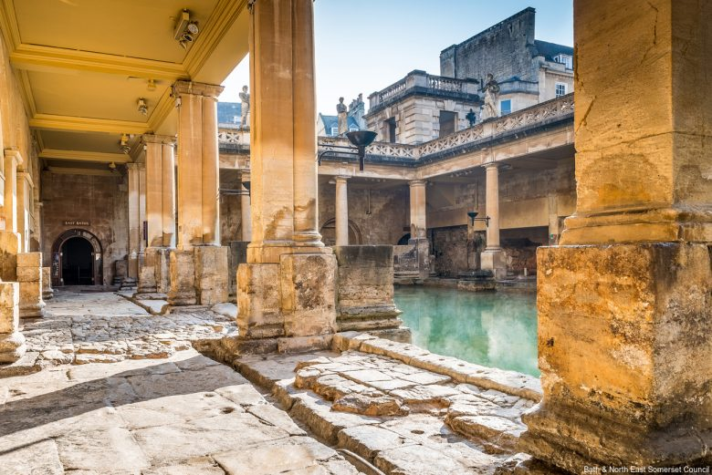 Romeinse baden, Bath