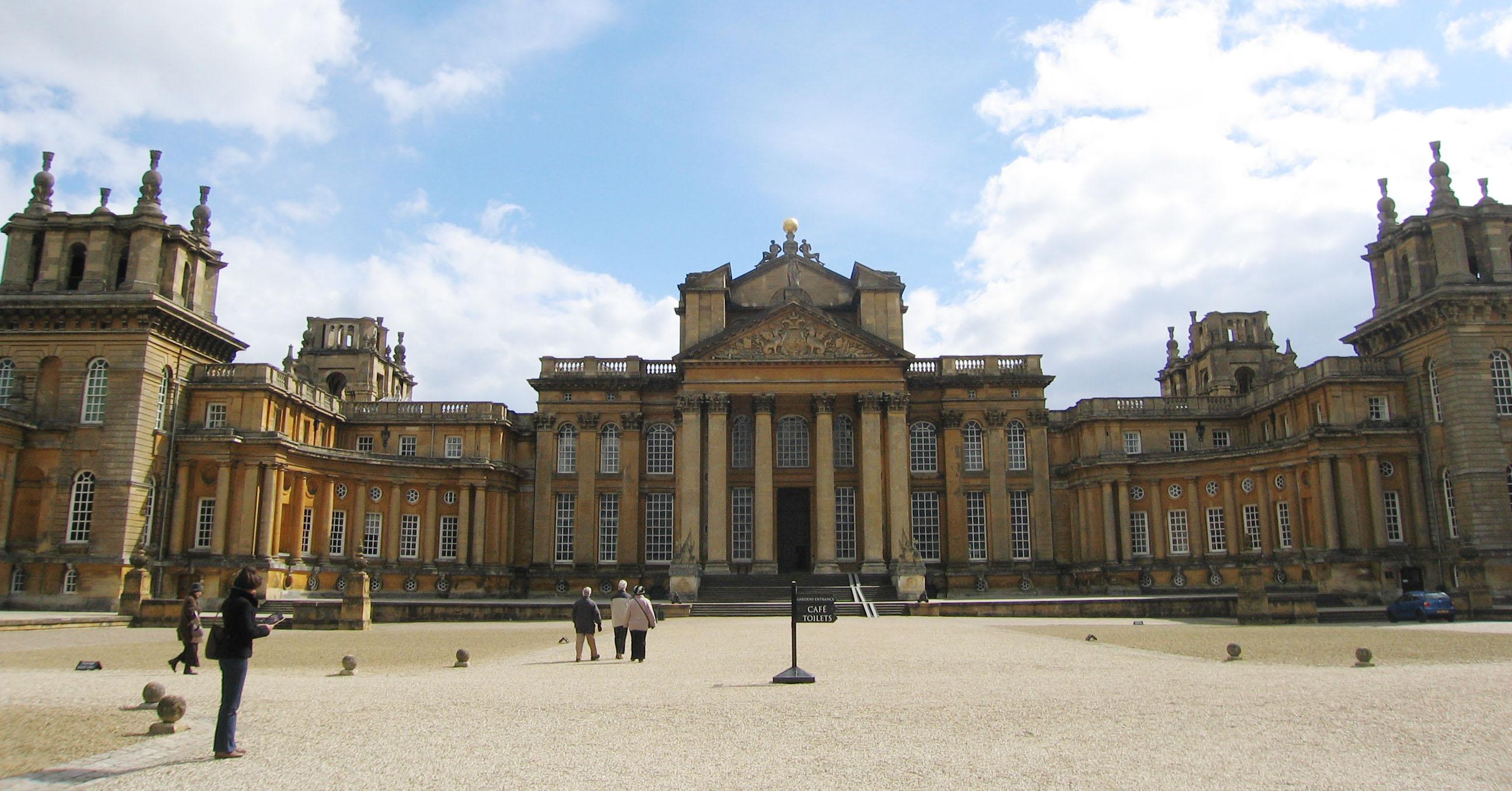 Blenheim Palace (foto Dirk Musschoot)