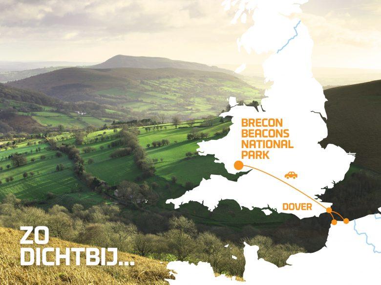 Wales - zo dichtbij