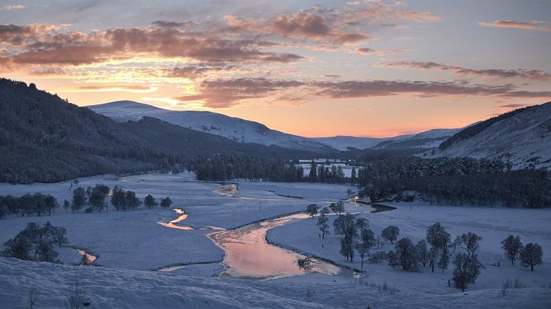 De Cairngorms - in de winter op haar mooist