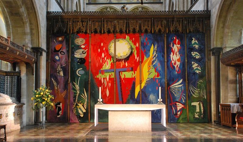 De kathedraal van Chichester