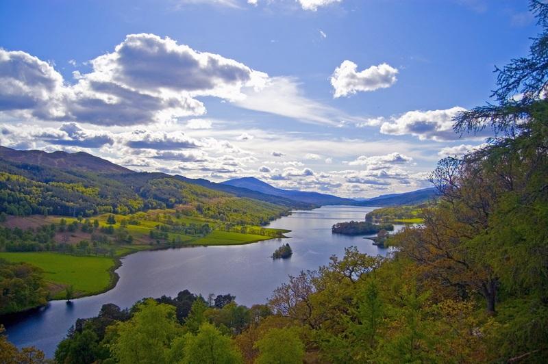 Crieff - een van de mooiste foto's van Schotland