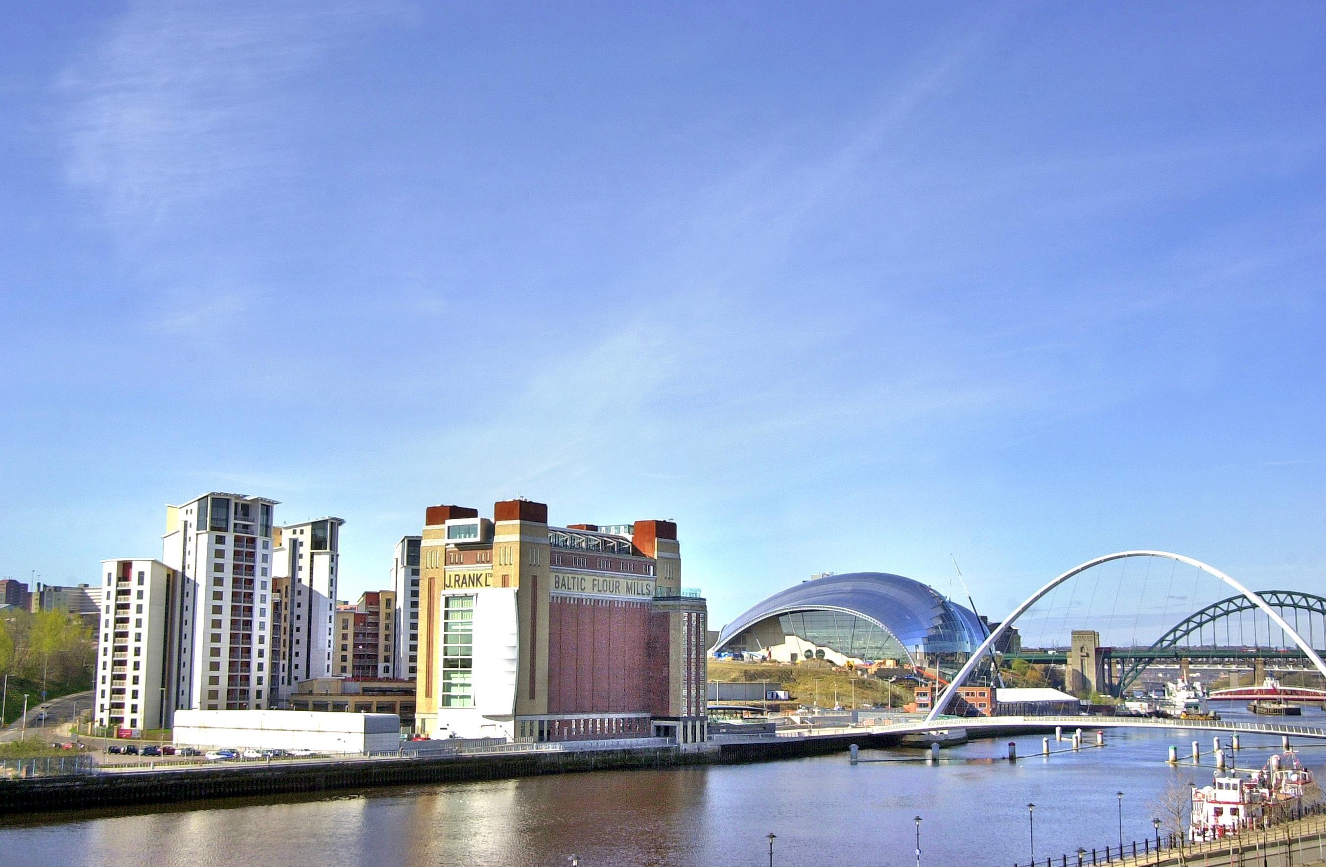 Kenmerkend voor Newcastle - de bruggen over de Tyne