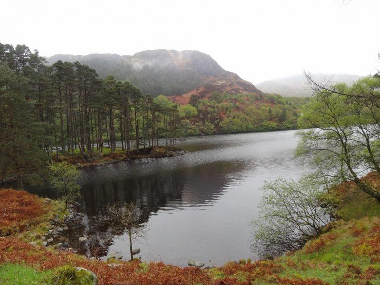 Loch Trool in het Galloway Forest Park