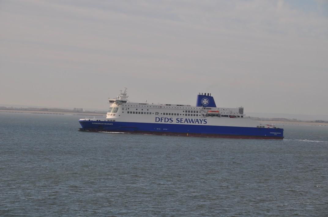 Naar het Isle of Thanet met DFDS