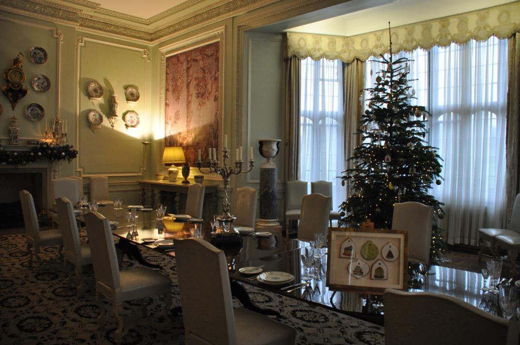 Kerst in Leeds Castle