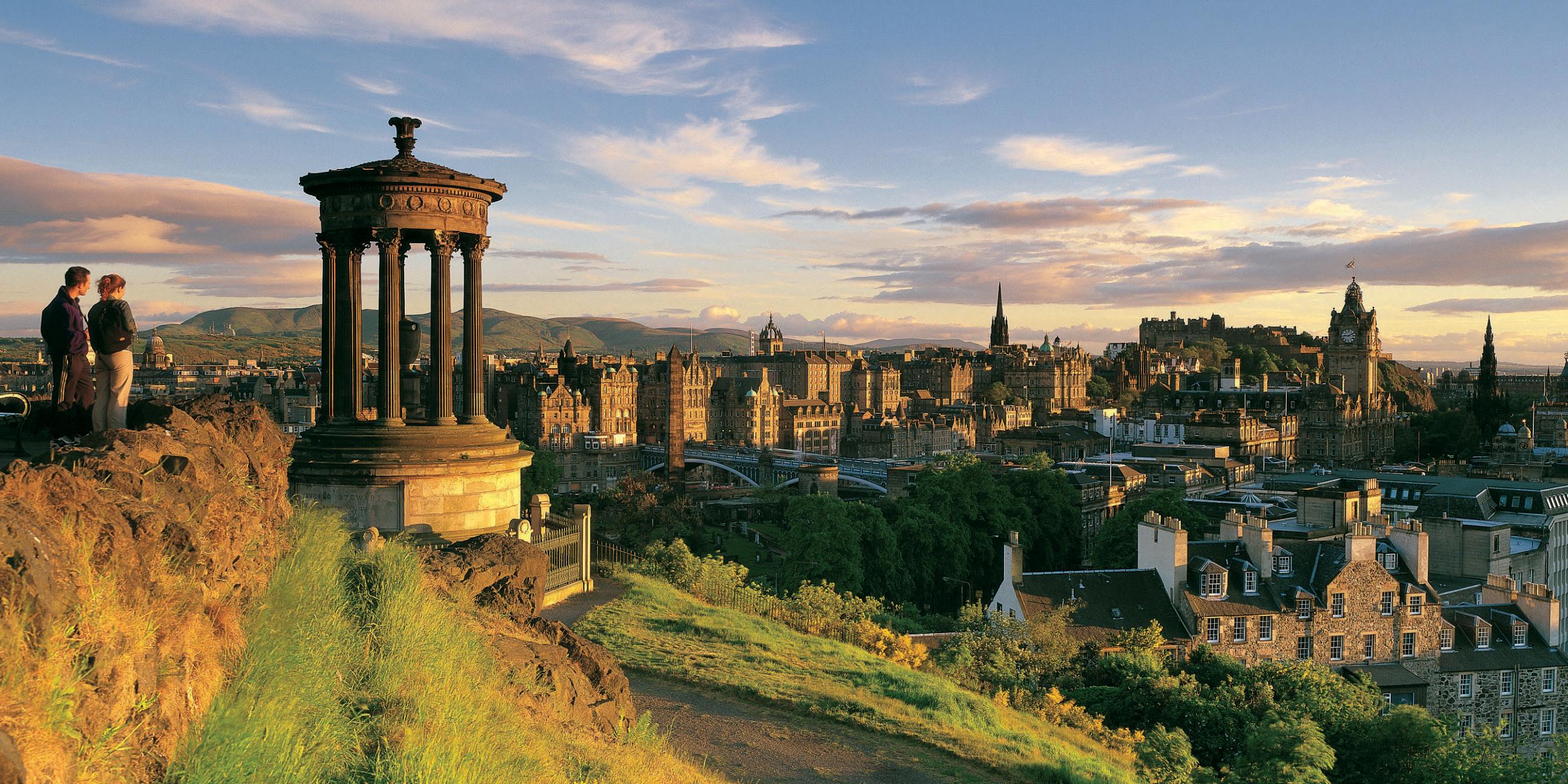 Valentijnsdag - geef eens een citytrip naar Edinburgh cadeau!