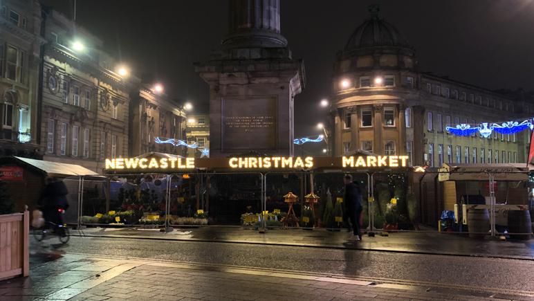 Newcastle Christmas Market - Kerst Markt