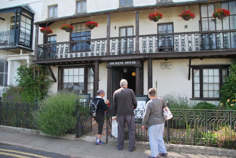 Dickens House Museum in Broadstairs