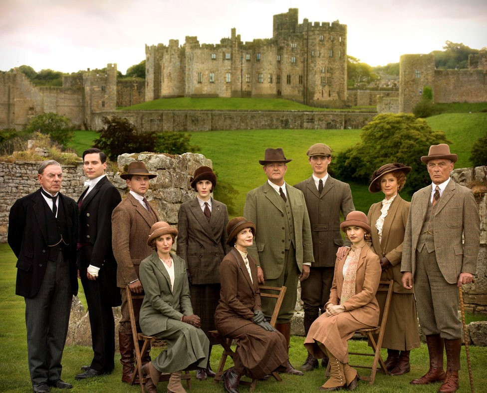 Downton Abbey in Alnwick Castle - Northumberland