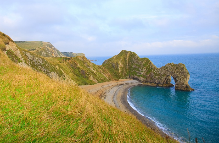 De Durdle Door in Dorset