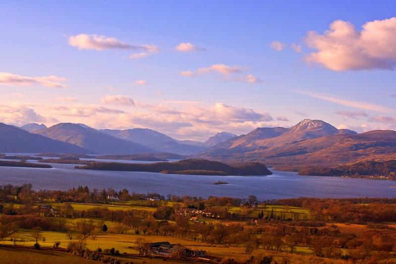 Een weekje Loch Lomond