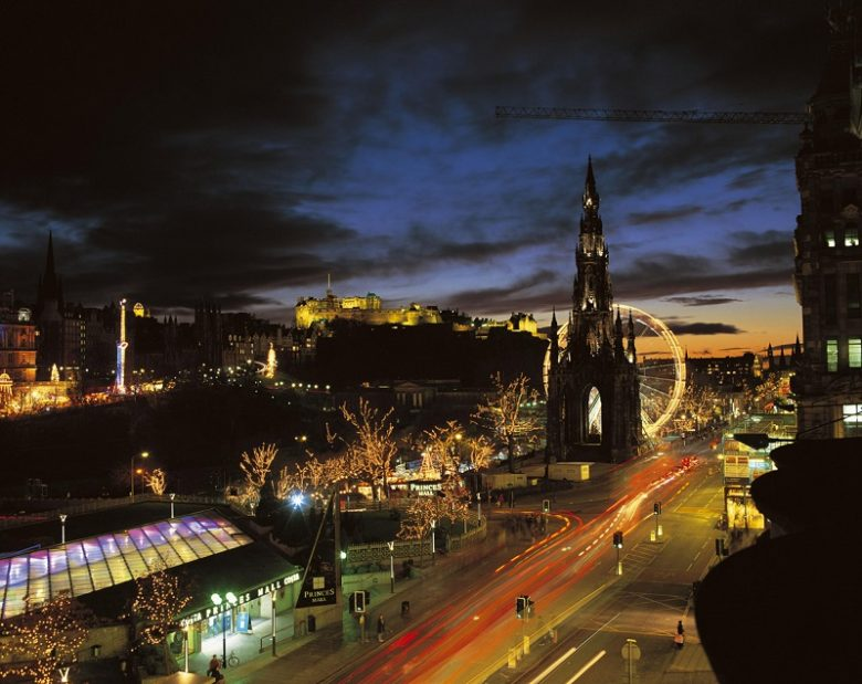 Kerst in Edinburgh