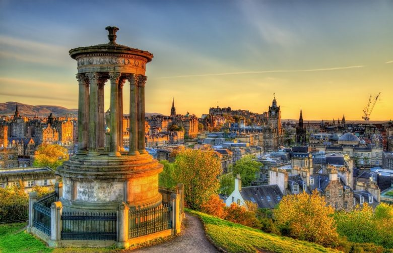 Dugald Stewart Monument - Edinburgh