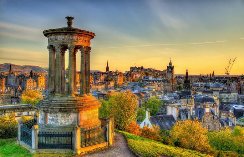Edinburgh - de hoofdstad van Schotland