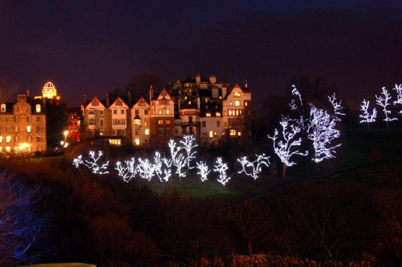 Kerstmarkt Edinburgh