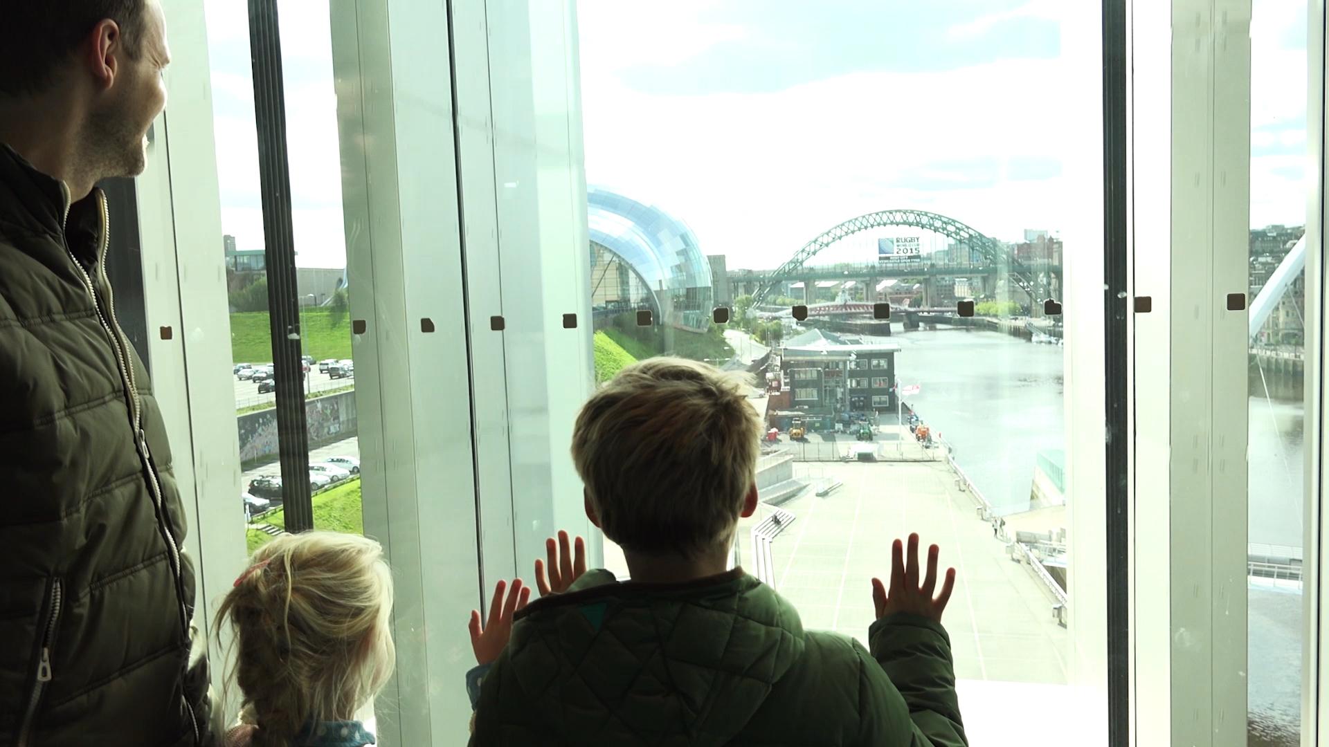 BALTIC museum - gratis genieten van het uitzicht