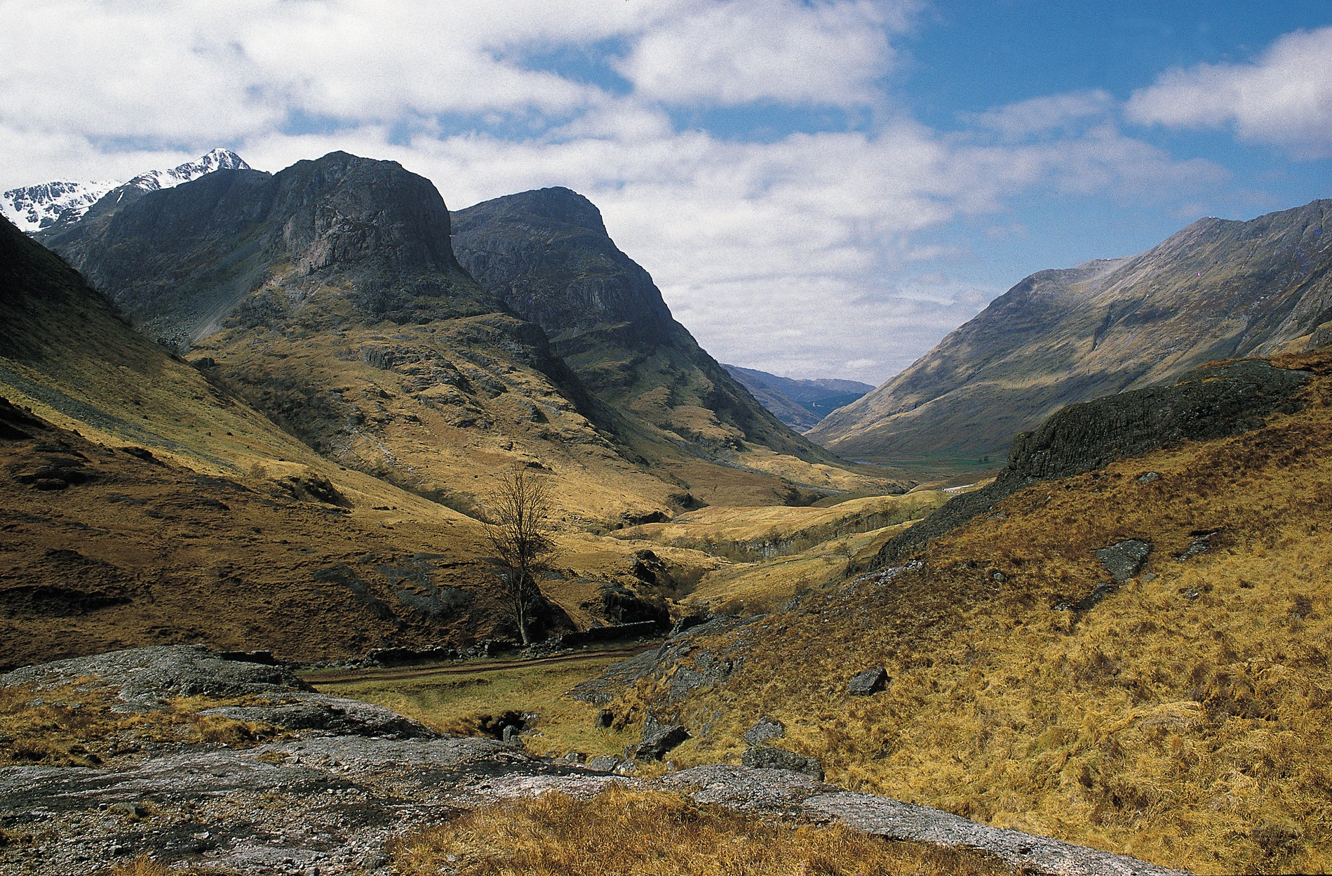 Glencoe in de Schotse Highlands