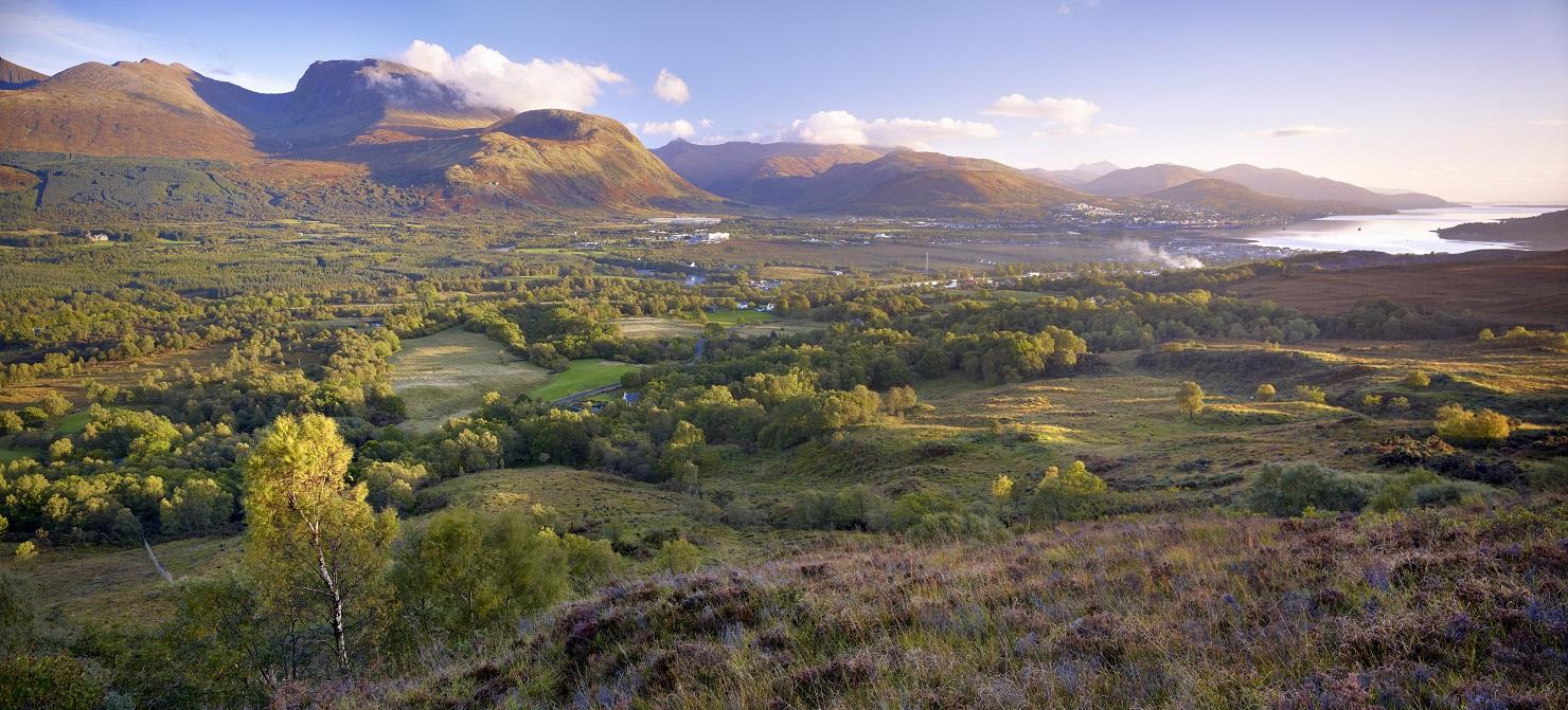 Een van de vele Lochs in Schotland