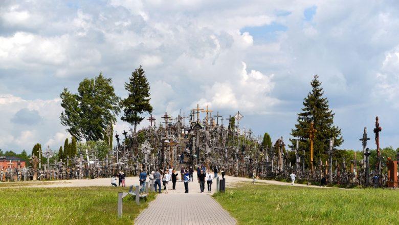 Heuvel der Kruizen toeristisch