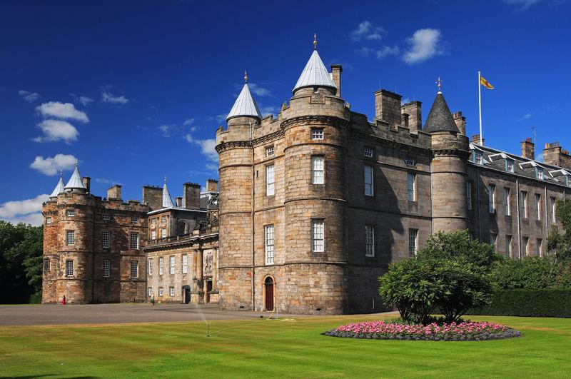 Mijn eerste Schotland ervaring - Holyrood House
