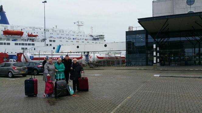 Vriendschap aan boord bij DFDS