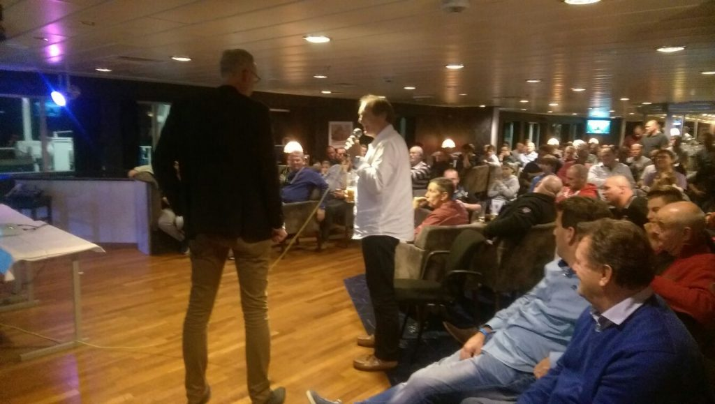 DFDS voetbalevent aan boord
