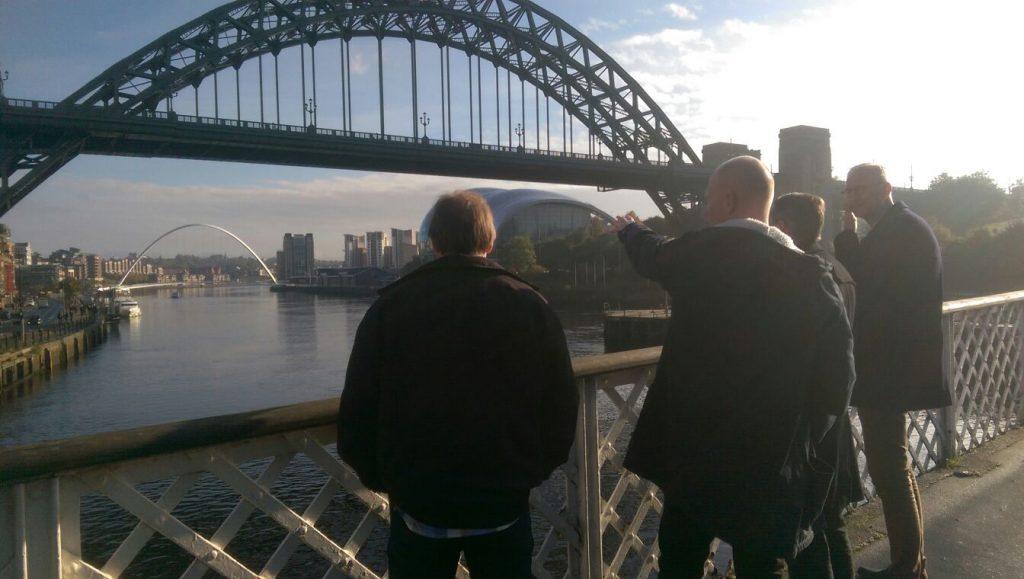 Met Arnold Mühren en Frans Thijssen naar Newcastle