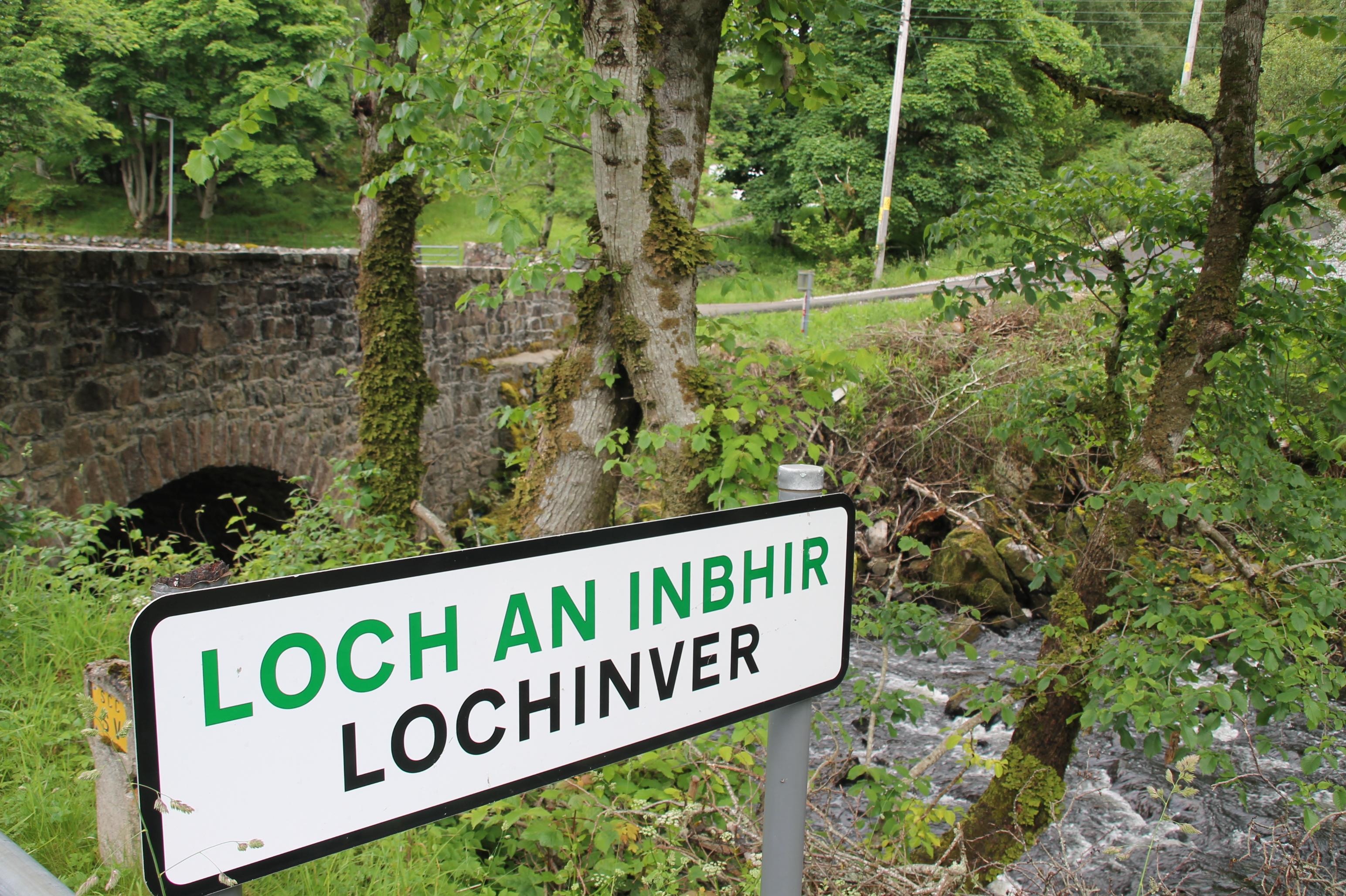 Lochinver in Noord-Schotland is rijk aan natuur