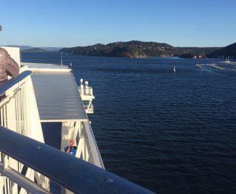 Varen door de Oslo-fjord