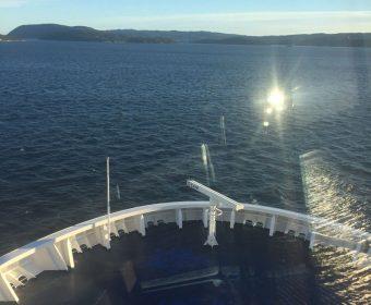 Uitzicht vanaf CROWN Seaways