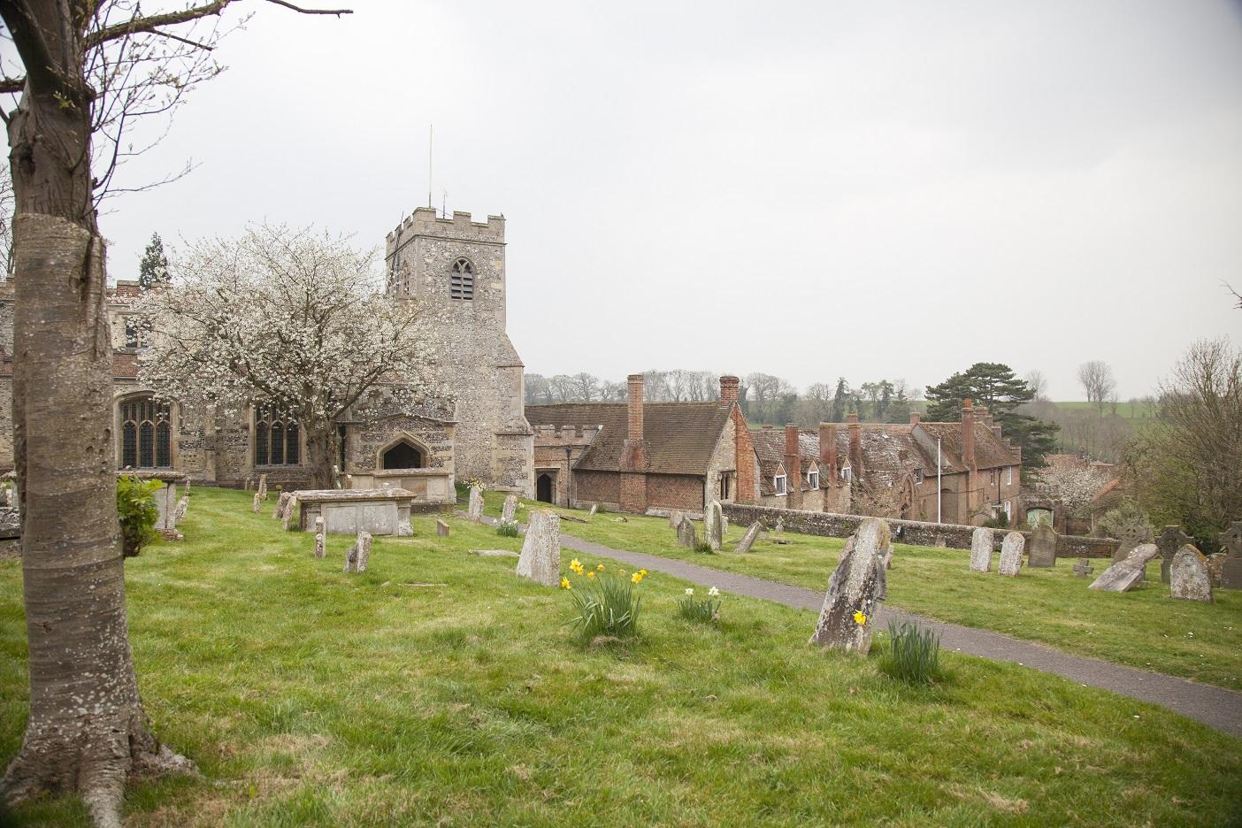 Oxfordshire leent zich uitstekend voor spannende verhalen
