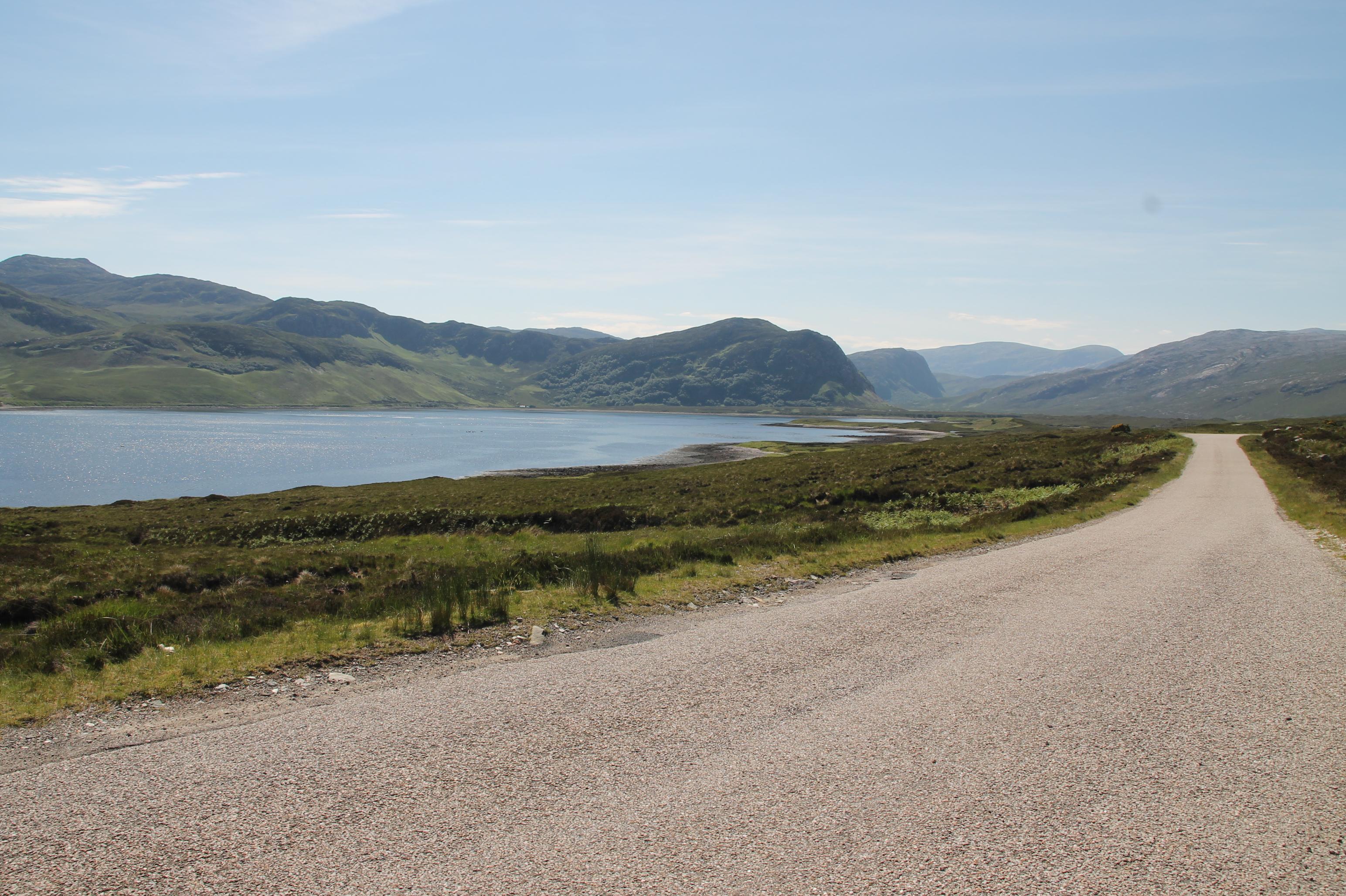 Op weg naar Loch Eriboll