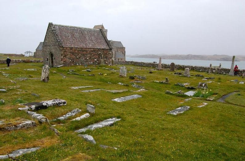 Het Schotse eiland Iona